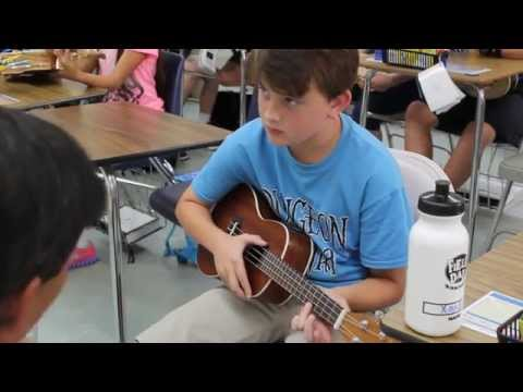 Ukulele Class & School Promo Video - Rocky Bayou Christian School Destin Campus