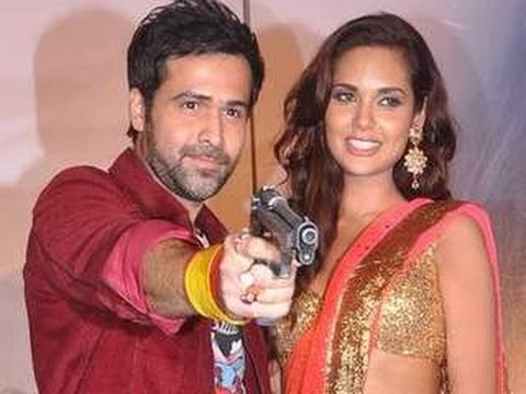 Emraan Hashmi points GUN at the MEDIA