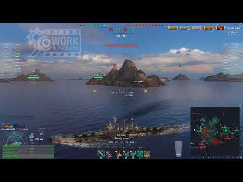 World of warships - Worcester WiP