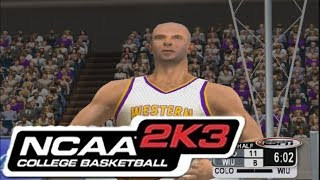 NCAA BASKETBALL 2K3 THROWBACK! | ACTUALLY PRETTY DECENT