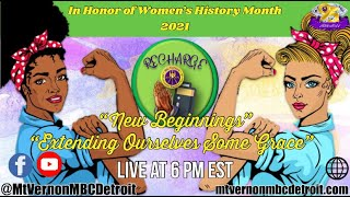 """""""Mt. Vernonite Weekly Recharge"""" 🙏🏾🔌 -3/25/2021 - Women's History Month 2021"""