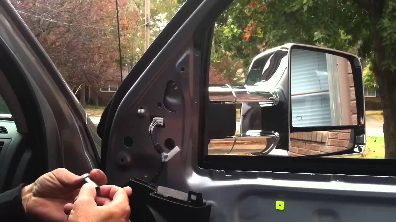 Replacing Toyota Tundra Mirror  YouTube
