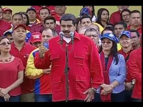 Maduro convoca al Consejo de Defensa de la Nación (Codena): Ramos Allup DEBE asistir