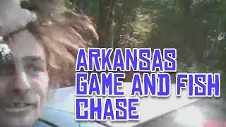 Crazy Arkansas police chase