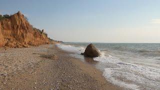 ПЛЯЖИ СЕВАСТОПОЛЯ  (дикие пляжи Крыма) ~ Sevastopol beach. Crimea. Nature relaxation film