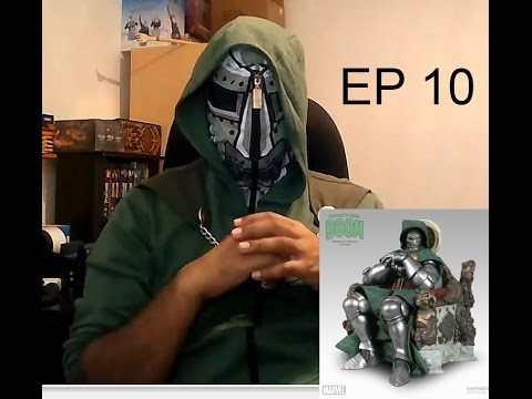 Dr Doom On Throne Premium Format Sideshow My Story and Review Inside My Showroom EPISODE 10