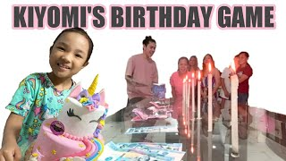 "Kiyomi's Birthday Celebration ""My Greatest Gift From God"""