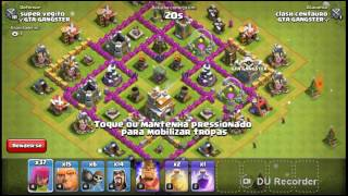 Video novo no canal!!!Clash of clans testando novo exército