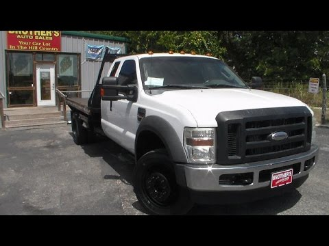 2010 Ford F550 Super Duty Xl Flatbed Review Youtube