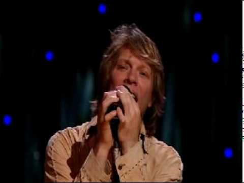 Bon Jovi - Bed of Roses (Is Jon Crying?)