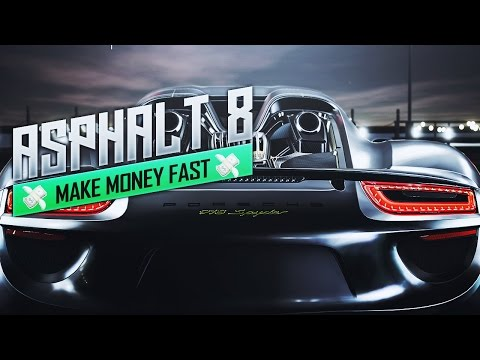 How to Make Money Fast in Asphalt 8