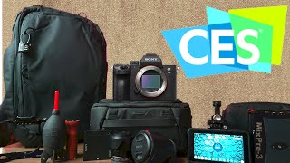 What's in my camera bag? CES 2020 Edition