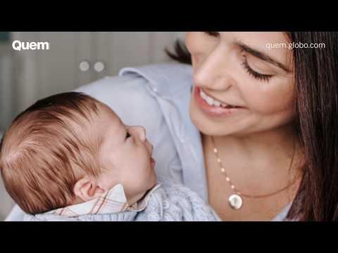 Sabrina Petraglia mostra rosto do filho pela primeira vez e relembra experiência como mãe de UTI