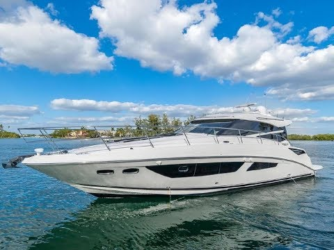 2015 Sea Ray 470 Sundancer Boat For Sale at MarineMax Venice - YouTube