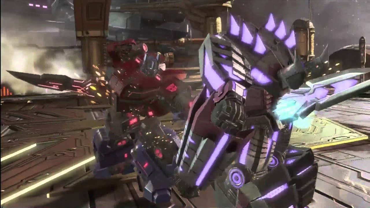 transformers fall of cybetron final boss megatron ending