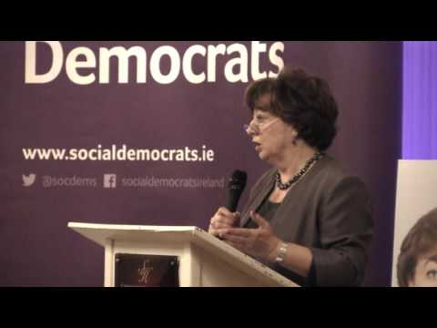 Catherine Murphy TD, Social Democrats Ireland talks about equality and Irish government crisis.