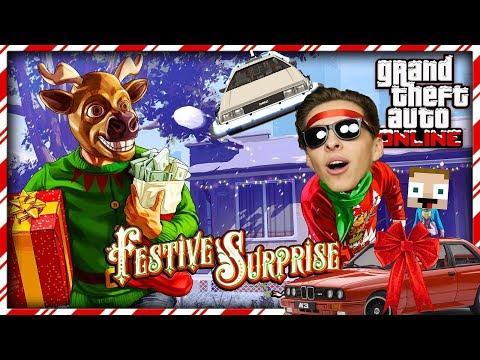 Vánoční perníčky a létající auto | GTA V s Gejmrem