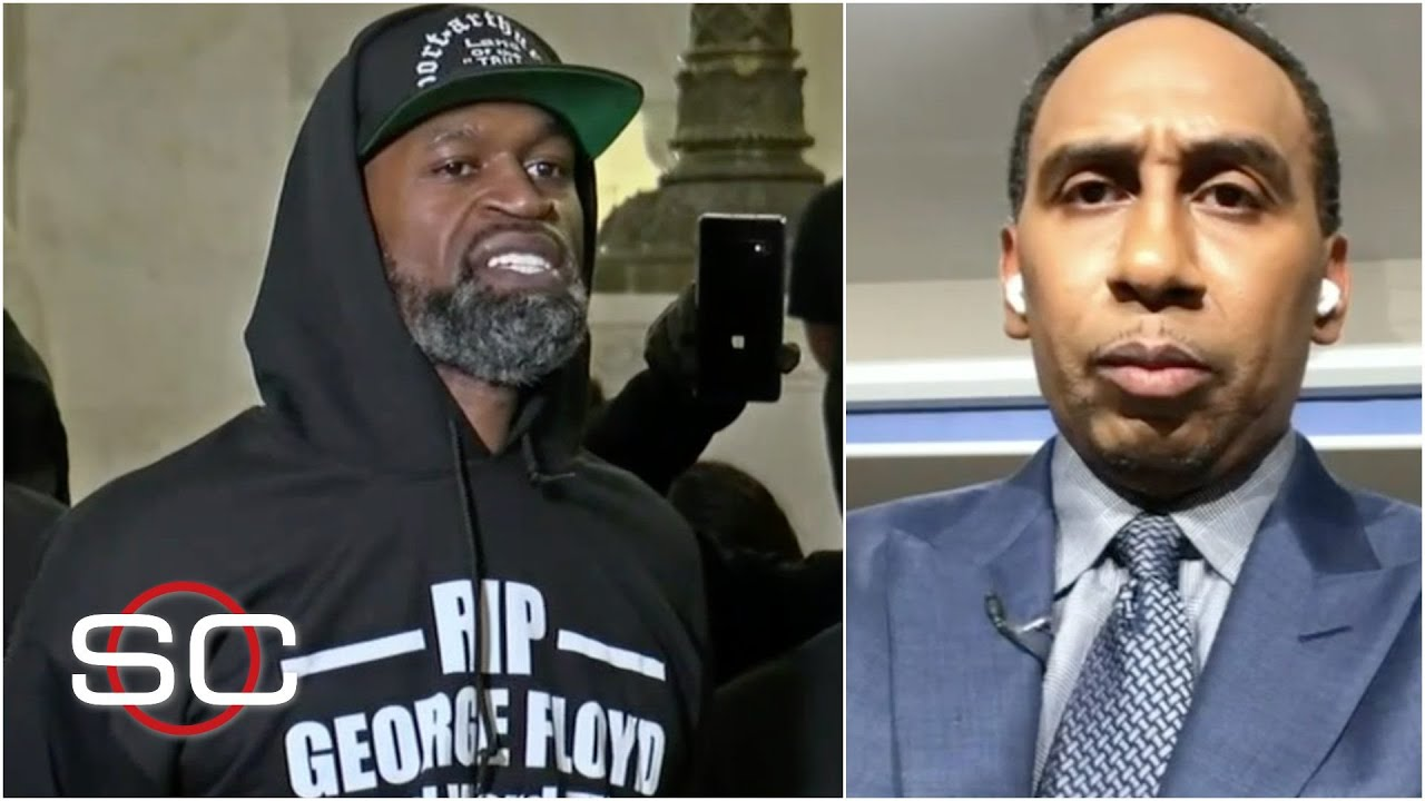 Stephen A. Smith's reaction to the death of George Floyd | SportsCenter