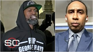 Stephen A. Smith reacts after the death of George Floyd and the officer arrested | SportsCenter