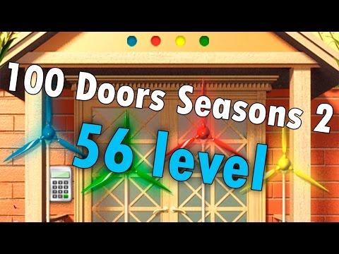 56 уровень - 100 Doors Seasons 2 (100 Дверей Сезоны 2) прохождение