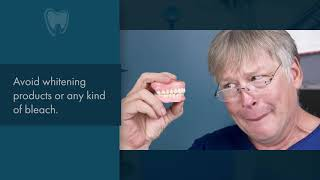 How to care for your dentures - Scarborough Dentist