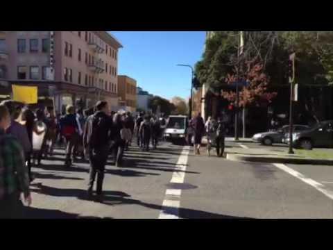 High tuition strike in UC Berkeley