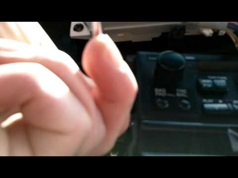 remove  honda odyssey radio dash removal   youtube