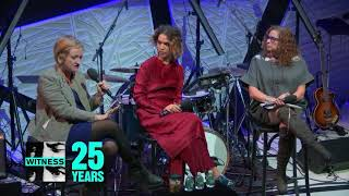 Baixar Emily May, Cleo Wade and Abigail Disney speak at WITNESS' A Night for Change, November 2017
