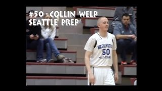Collin Welp ('17 Seattle Prep):  game winning shot in WIBCA all-state game (3/18/2017)