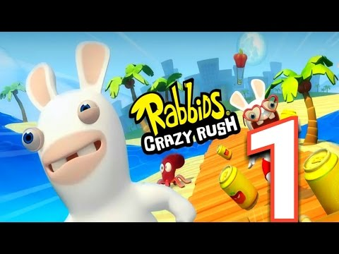Rabbids Crazy Rush Android Gameplay #1 | Lvl 1 to Lvl 10