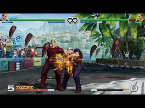 Practicando con Yamazaki THE KING OF FIGHTERS XIV