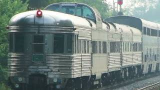 Amtrak with Historic Pullman Coaches