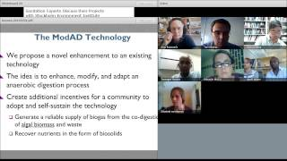 "First webinar / expert chat by grantees of the BMGF on ""Biogas sanitation"" (July 2013)"