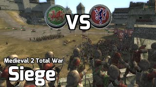 Medieval 2 Total War Online Battles #222 (1v1 Siege) - Strange turn of Events