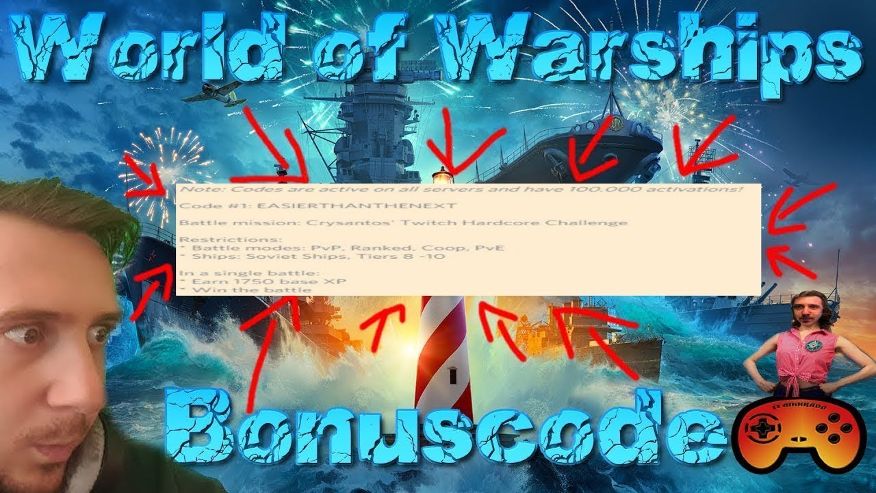 PSA: New Bonus Code - General Game Discussion - World of Warships