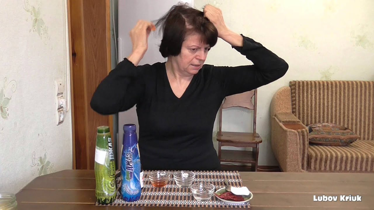 Как сделать настойку от выпадения волос