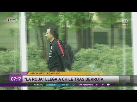 La Roja vuelve a Chile tras derrota ante Brasil - Ahora Noticias Matinal/11 de octubre