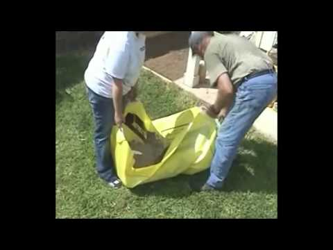 Portable Cement Mixer Mixing Concrete with Crete Sheet Gadget Review