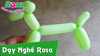 Balloon for kid - Balloon dog - Tạo hình chú chó