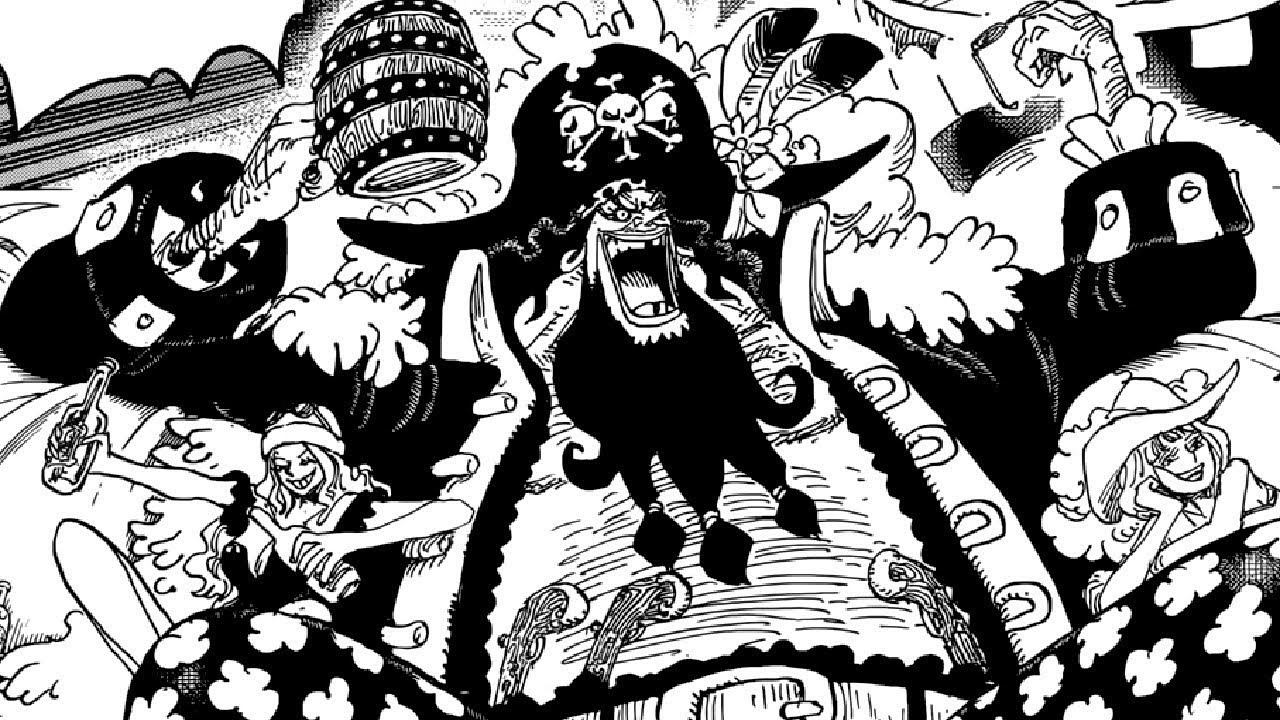 ONE PIECE CHAPTER 925 LIVE REVIEW - AN ACTUAL BLACK BEARD - YouTube