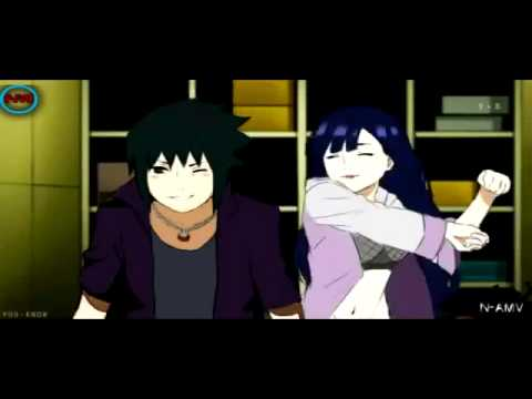 sasuke hinata road to ninja