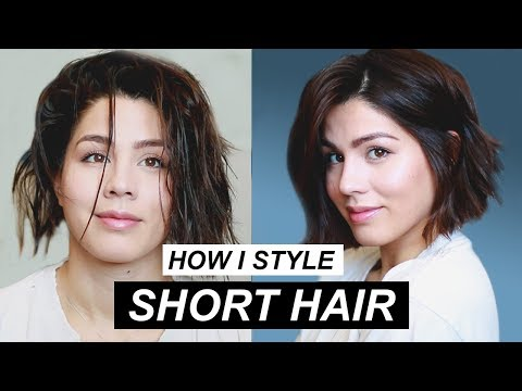 How to Style Short Hair | MeganBatoon