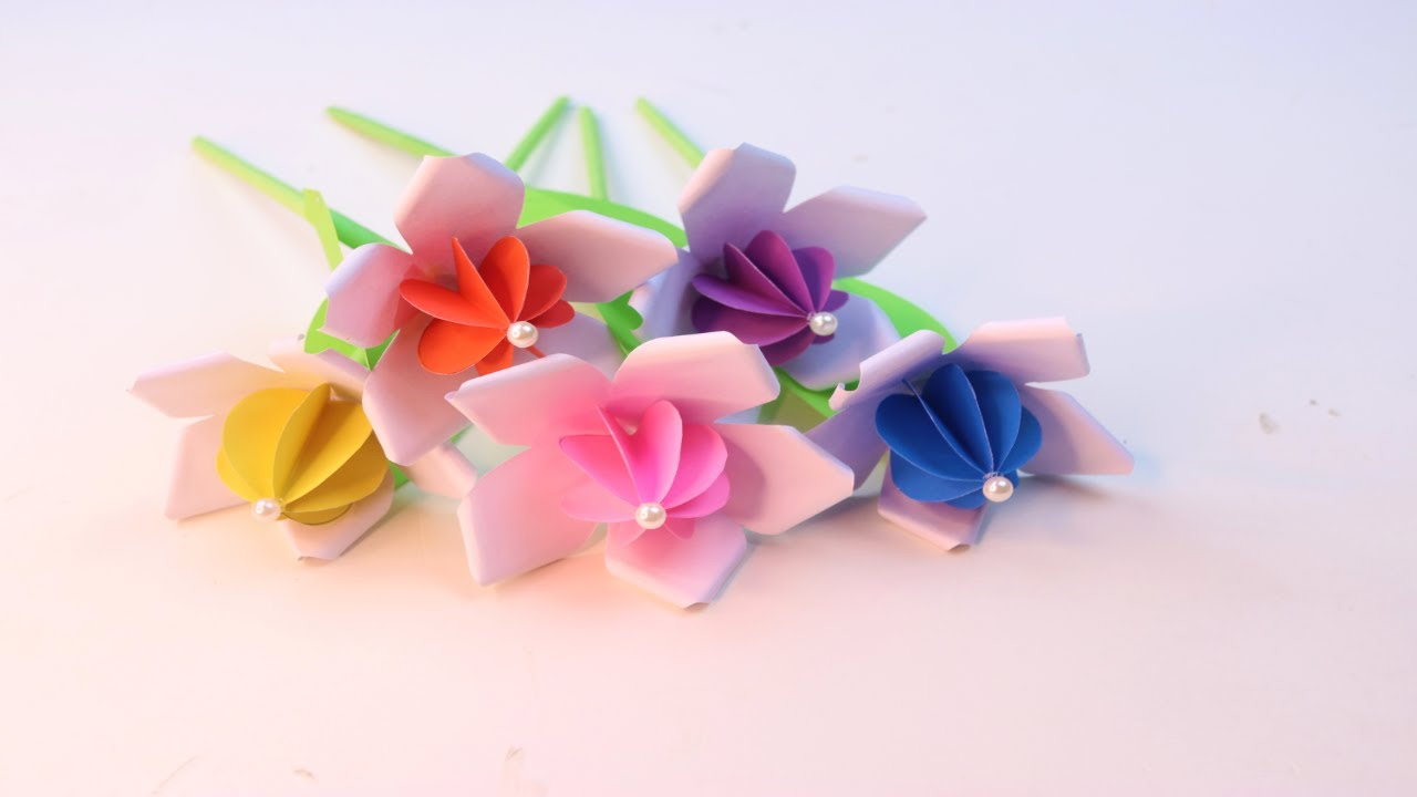 Occasional Beautiful Flowers - Flower making tutorial for Occasional Decorations - Decorating Ideas