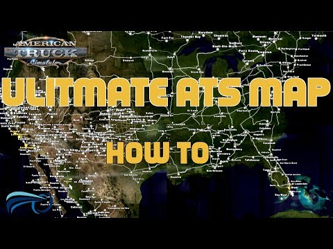 American Truck Simulator Ultimate 1.31 Map Mod & How To!