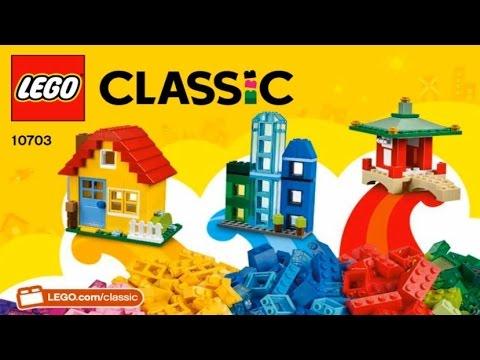 LEGO Classic CREATIVE BUILDER BOX 10703 - YouTube