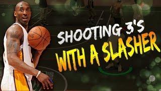 NBA 2K17 - SHOOTING SLASHER?! | SLASHER BUILD| GREEN LIGHTS!!!!