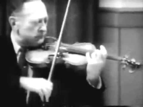 GREATEST VIOLINIST, JASCHA HEIFETZ 1st MAJOR VIOLIN RECITAL...Laughed Off Stage, Embarassed, FAIL