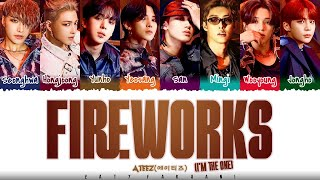 Download ATEEZ - 'FIREWORKS' (I'M THE ONE) Lyrics [Color Coded_Han_Rom_Eng]