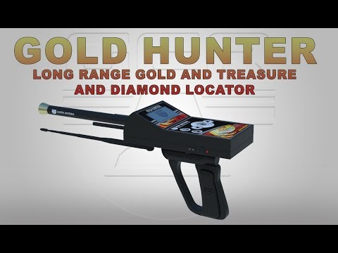 long range metal & gold & treasure detector -  Gold Hunter Device Plus