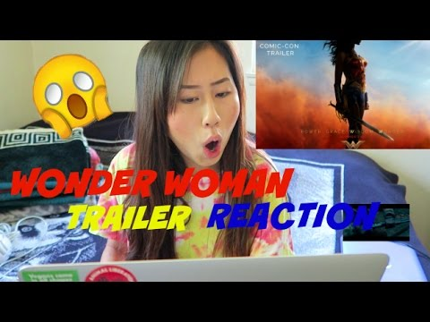 WONDER WOMAN Comic-Con Trailer REACTION!!
